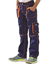 Planam Basalt Junior Bundhose in verschiedenen Farben, Arbeitshose für Kinder
