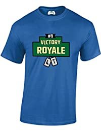 Taurus New Adult and Childs #1 Victory Royale With Dog Tags Gamers T Shirt PS4 Xbox