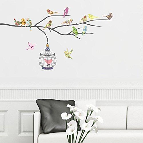decowall-dw-1202-14-pajaros-en-una-rama-vinilo-pegatinas-decorativas-adhesiva-pared-dormitorio-salon