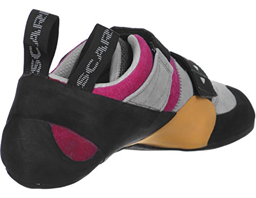 Damen Kletterschuhe Force X Women schwarz grau pink