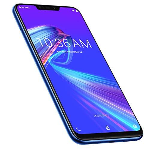 Asus, Zenfone Max M2, Smartphone débloqué, 4G (6,3 Pouces, 32Go, Double Nano SIM + MicroSD, Android 8.1) Bleu