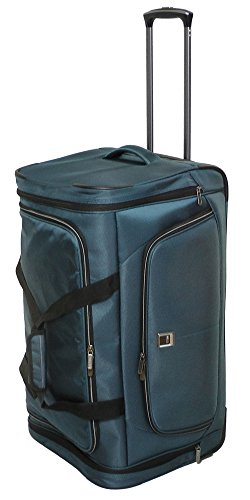 Titan NONSTOP Trolley Travelbag, Petrol, 382601