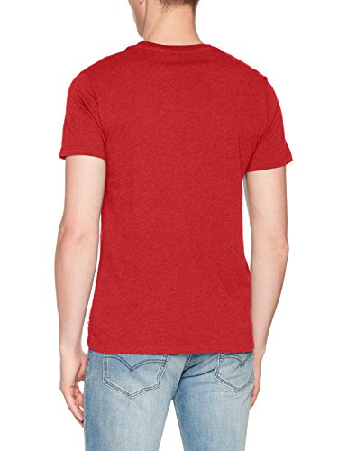 Levi's Herren T-Shirt Batwing Number 3 Rot (Cherry Bomb 0008)