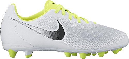 Nike Jungen Magista Opus Ii Ag-Pro Fußballschuhe Weiß (White/black-vert Volt-pure Gris Platinum)