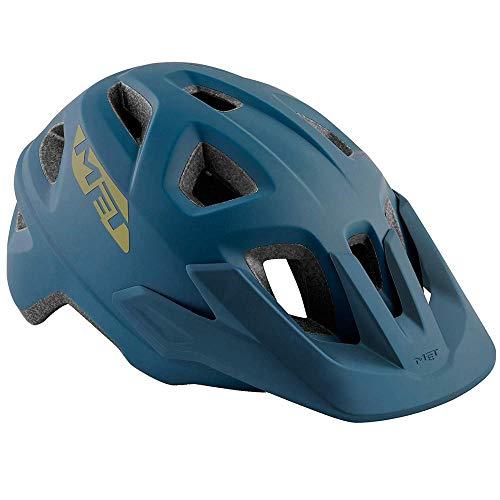 MET Echo Helm Petrol Blue Kopfumfang S/M   52-57cm 2019 Fahrradhelm