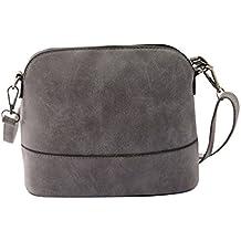2016 FEITONG mtong goliton bolso bolso de las mujeres bolso bandolera Gris gris Talla:Size: 28*9.8*17.5cm