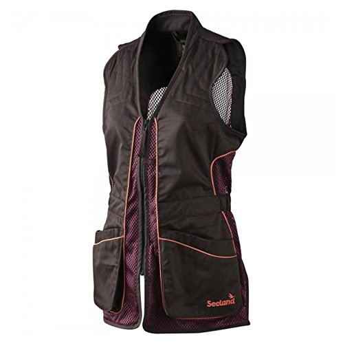 seeland-ladies-black-bean-skeet-vest-l-large