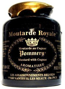 Pommery Royal Mustard, Wholegrain Mustard with Cognac, Large Pommery Moutard Royale - 500g Test