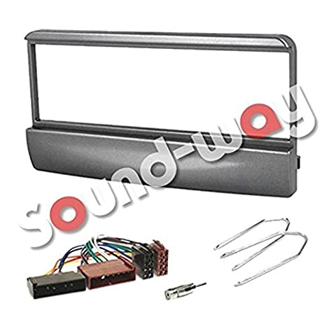 KIT Façade autoradio faisceau Ford Focus / Fiesta / Mondeo / escort / transit + adaptateurs iso et clés gris