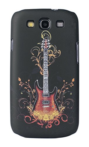 Sun Mobisys™; Samsung Galaxy S3 I9300 Back Cover; Touch feel Embossed Printed Back Case for Samsung Galaxy S3 I9300 - GUITAR  available at amazon for Rs.149