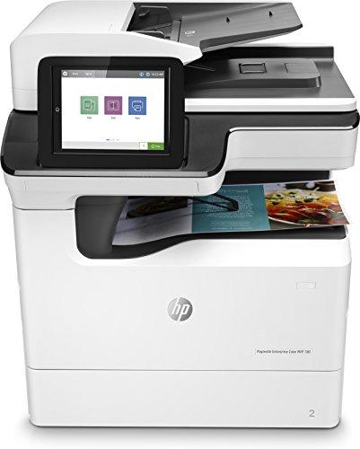 HP pagewide Multifunktionsgerät Enterprise Color 780DN-Multifunktions (Tintenstrahldrucker, 2400x 1200DPI, 550Blatt, A3, Direktdruck, weiß) (Hp 476dw)