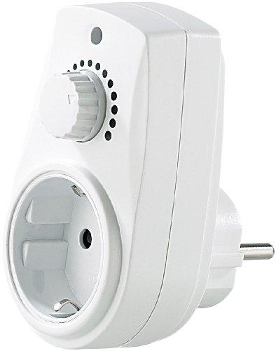 revolt Dimmbare Steckdose: Dimmer-Steckdose für Tisch- und Stehlampen mit 230V (Zwischenstecker mit Dimmer)