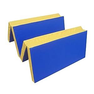 NiroSport Turnmatte 200 x 100 x 8 cm Gymnastikmatte Fitnessmatte Sportmatte...