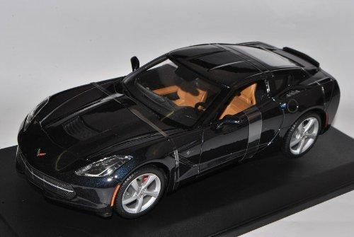 Preisvergleich Produktbild Chevrolet Corvette Stingray (C7), met.-dkl.-blau, 2013, Modellauto, Fertigmodell, Maisto 1:18
