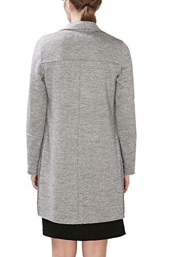 Esprit Damen Mantel Grau Light Grey 5 044