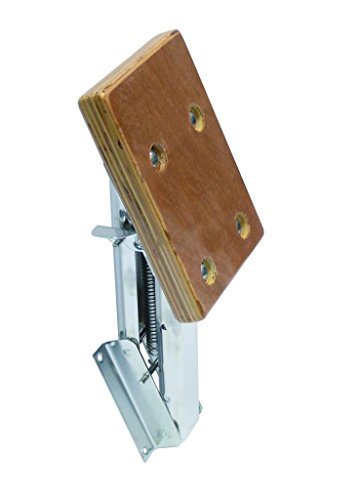 OUTBOARD MOTOR ENGINE BRACKET WITH WOODEN PLATE 10HP 30KG STAINLESS STEEL Test