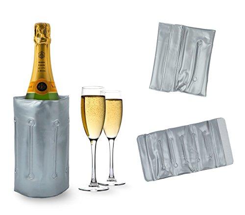 Media wave store 704641 sacca refrigerante porta bottiglie portatile e per seau glace