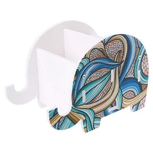 toymytoy elefantes portalápices Oficina de escritorio Organizador de Papelería de almacenamiento de...