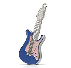 Quace 16 GB Blue Electric Guitar Fancy USB Pen Drive