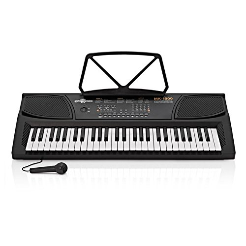 Clavier Électronique Portable 54 Touches MK-1000 par Gear4music
