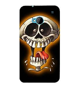 EPICCASE Funny Skull Mobile Back Case Cover For HTC One M7 (Designer Case)