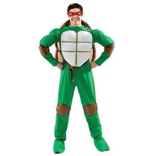 Herren Teenage Mutant Ninja Turtles Deluxe TMNT Book Tag 1990s Halloween Kostüm Outfit Standard und (Tmnt Halloween)