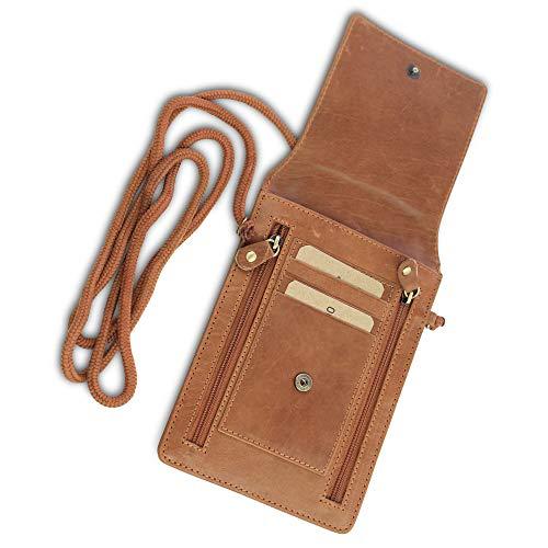 Safekeepers Protect Your valuables Brustbeutel Brusttasche Umhängetasche Leder