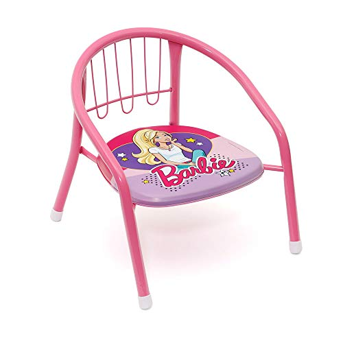 BARBIE - KINDER STUHL - 36 x 35 x 36 CM (Mickey Barbie, Mouse)