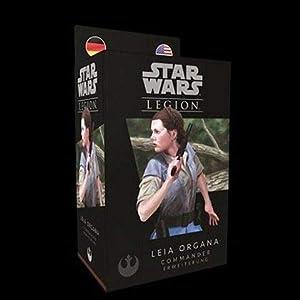 Asmodee FFGD4609 Star Wars: Legion-Leia Organa, Expansión
