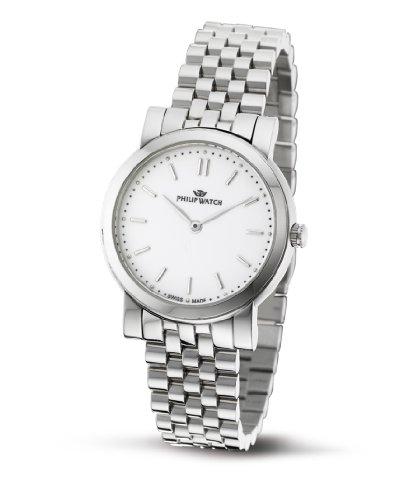 Philip Watch - R8253193645 - Montre Femme - Quartz Analogique - Bracelet Acier Inoxydable Argent