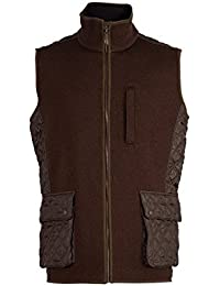Dale of Norway - Chaleco para hombre Jeger, tejido impermeable, color mocca, talla L, 85061-R