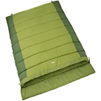 Vango Harmos Unisex Outdoor Double Sleeping Bag available in Treetops - Size 58 x 31 cm