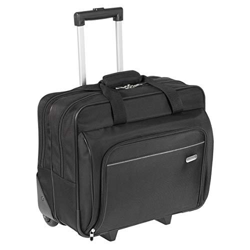 Rolling Laptop Case (Targus TBR003EU Executive - Laptoptasche mit Rollen für Bildschirmdiagonalen von bis zu 15,6Zoll - schwarz)