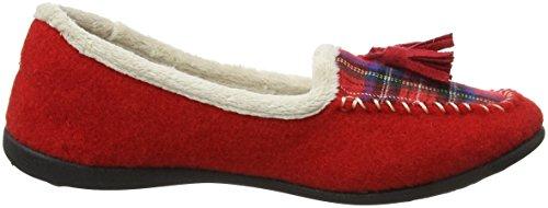 Padders Tassel, Sneaker Basse Donna Red (Red/Combi)