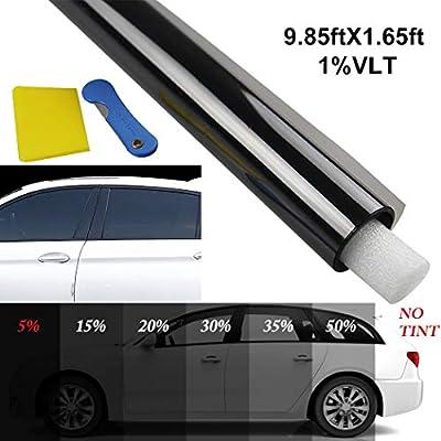 Fansport Film de vitre de voiture bloquant la couche de protection anti-UV pour films teintés anti-UV Film pare-soleil