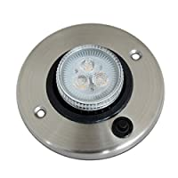 tenty.co.uk 12v Downlights LED for Auto Caravan Motorhome Boat