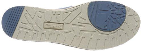 Timberland Women s Elvissa Sea Leather Slip On Trainers   Aegean Blue 476   5 UK 5 UK