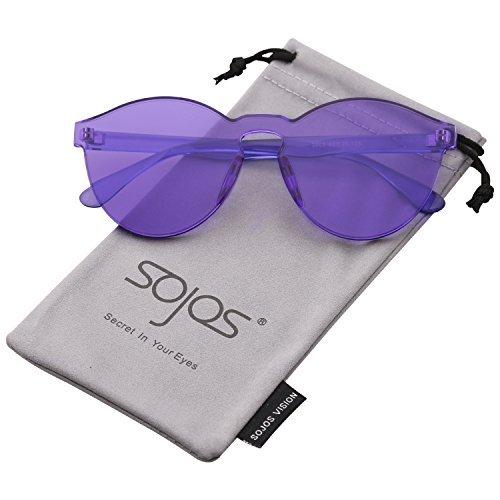 ille Farbig Schick Design Süßigkeit Damen SJ2056 Violett (Alle Süßigkeiten-namen)