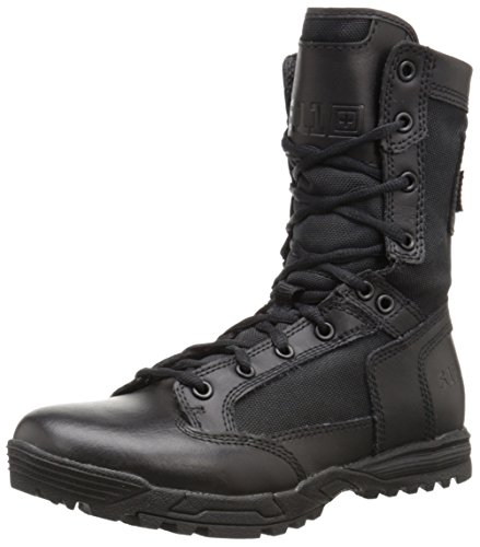 5.11 Tactical Skyweight Side Zip Military Boots, Black, 45 EU Tactical Military Boots