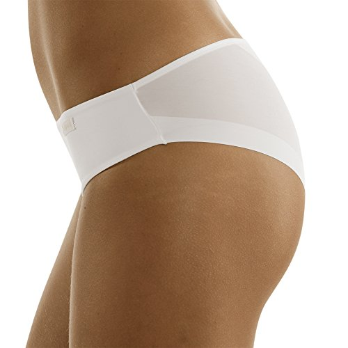 Lovable invisible slip mutande da donna, bianco, 3/m