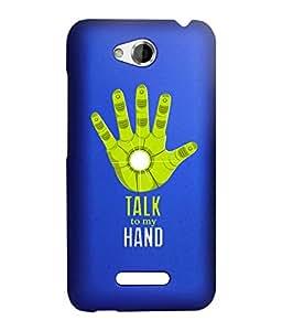 KolorEdge Back Cover For HTC Desire 616 - Royal Blue (2880-Ke15132HTC616RBlue3D)
