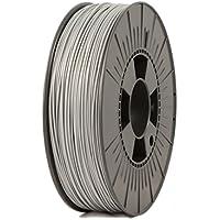 Ice Filaments ICEFIL1PLA116 Filamento PLA 1.75mm, 0.75kg, Argento