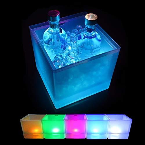 Womdee Cubo de Hielo LED