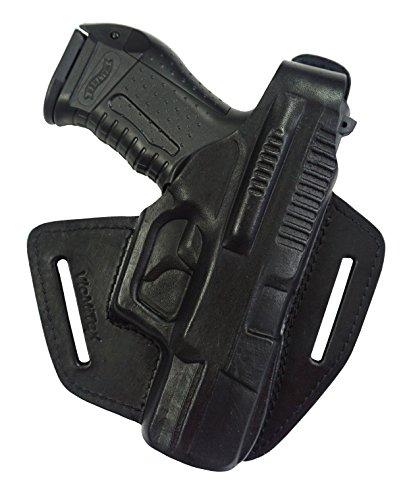 VlaMiTex B5 100{fdaf1cbe333e42d2f0cf9f1fbb75635923fd4aa51ccaf7e3af5fb14766b01844} Leder Pistolenholster Walther P99 / PPQ M2