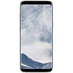 Samsung Galaxy S8 Smartphone (5,8 Zoll (14,7 cm) Touch-Display, 64GB interner Speicher, Android OS) arctic silver Samsung Galaxy S8