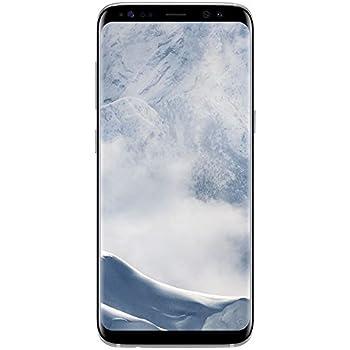 Samsung Galaxy S8, Smartphone libre (5.8'', 4GB RAM, 64GB, 12MP) [Versión alemana: No incluye Samsung Pay ni acceso a promociones Samsung Members], color Plata