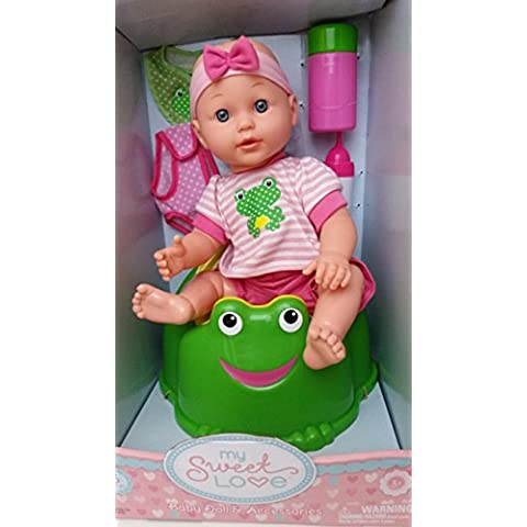 My Sweet Love Baby Doll Potty Time Set by My Sweet Love