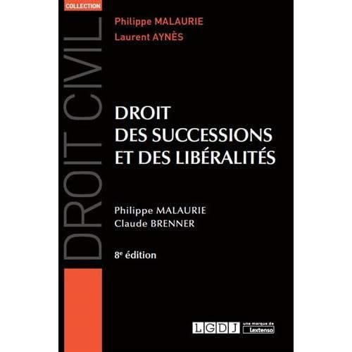 Droit des successions et des liberalités