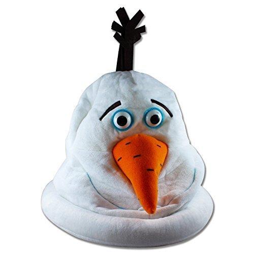 Die Eiskönigin Olaf Mütze Kostüm Karneval Fasching Halloween Frozen Elsa Anna Halloween Karneval Horror Einheitsgröße (Olaf Frozen Kostüme)