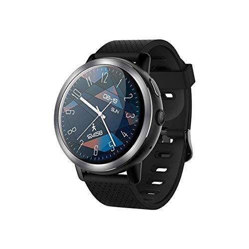 gaeruite Bluetooth-Smartwatch für LEMFO LEM8 4G Smart-Uhr Android-1,39-Zoll-AMOLED-Bildschirm mit GPS-Kamera 2MP (580 mAh) (Männer)